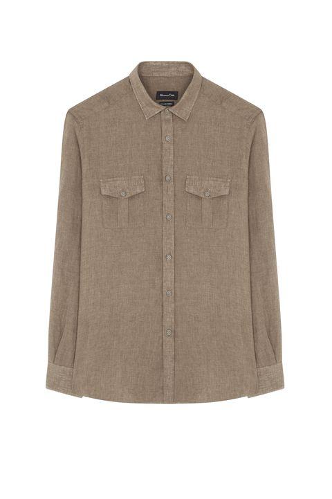Camisa de lino Limited Edition de Massimo Dutti (24.95 euros)
