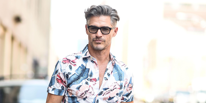 Eric Rutherford, camisa hawaiana, camisa hawaiana hombre, camisa manga corta hombre, camisa estampada hombre,Eric Rutherford street style,Eric Rutherford camisa,Eric Rutherford moda