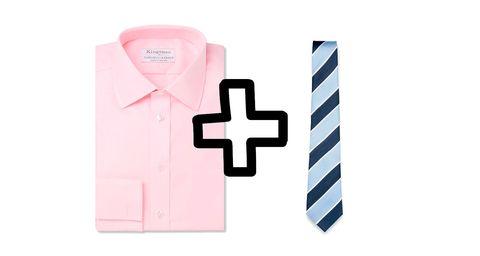 camisa rosa, corbata de rayas, camisa corbata, camisa, corbata, shirt tie, tie, shirt, vuelta al trabajo, otoño