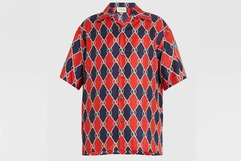 aa2cee5a9 camisa manga corta, camisa manga corta hombre, camisa gucci hombre