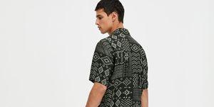 pull & bear camisa estampada verano