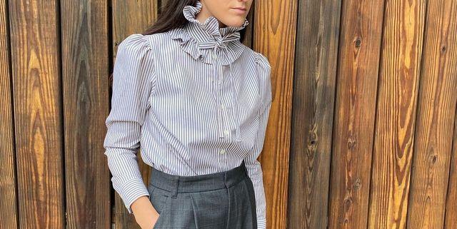 camisa taibs cuello golilla