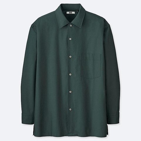 camisa uniqlo hombre, camisa hombre