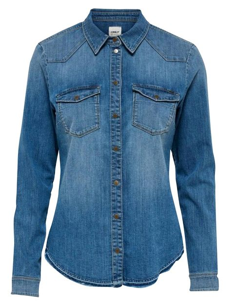 Denim, Clothing, Jeans, Sleeve, Blue, Pocket, Textile, Shirt, Outerwear, Collar,