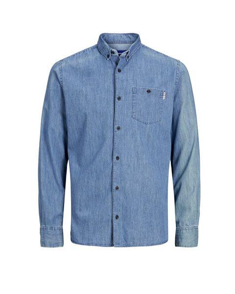 camisa vaquera azul de jackjones