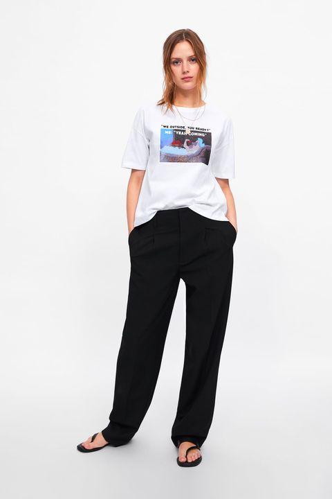 promoción especial moderno y elegante en moda Excelente calidad Zara tiene una camiseta de Pocahontas - Zara tiene la ...