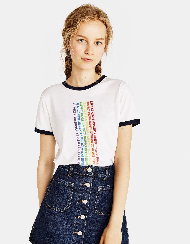 e8e2fada8 Bershka tiene las camisetas que necesitas para darlo todo en el ...