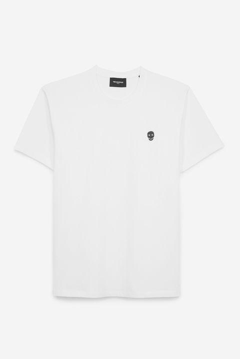 Camiseta básica con logo bordado de The Kooples (78 euros)