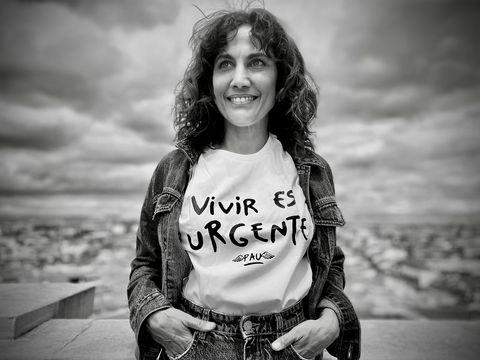 camiseta benéfica de pau donés contra el cáncer