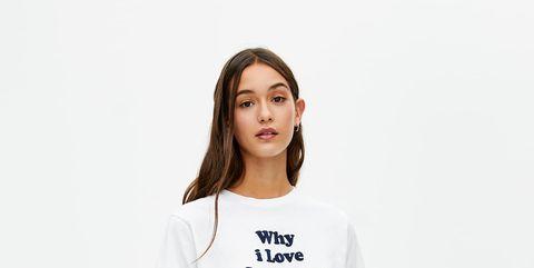 en venta 4d105 46983 Esta camiseta blanca de Pull & Bear nos representa a todas