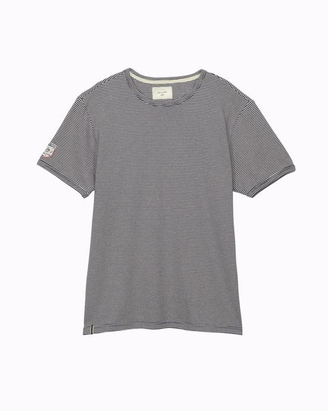 Camiseta de rayas modelo Leon de Kaporal Jeans (55 euros).