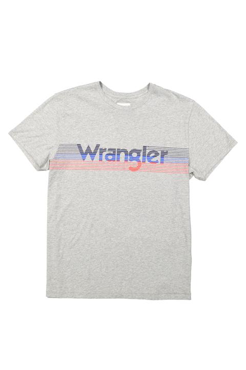 Camiseta gris Wrangler hombre