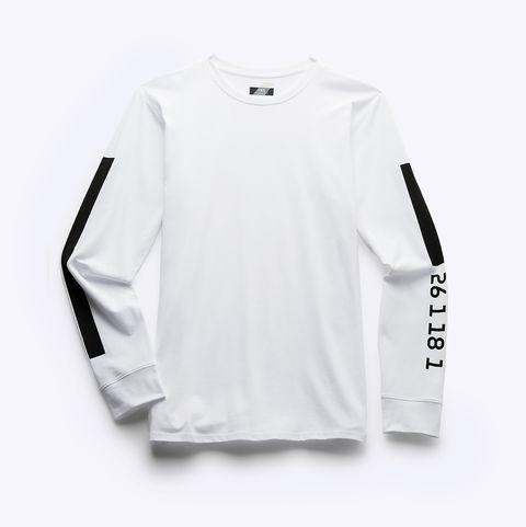 camiseta de manga larga de la colección deportiva athleticz de zara