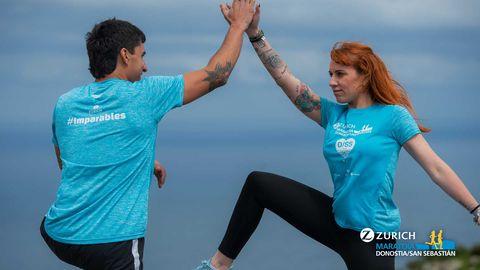 Camiseta maratón de San Sebastián 2019
