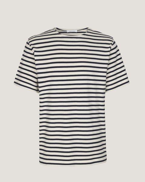 Camiseta modelo Bindslev de Samsoe Samsoe (69 euros)