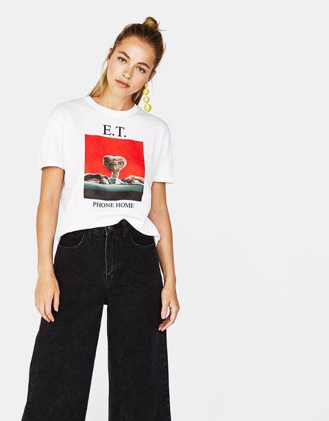 44a7a4b81 Bershka saca una camiseta de E.T.- Bershka homenajea a E.T. con una ...
