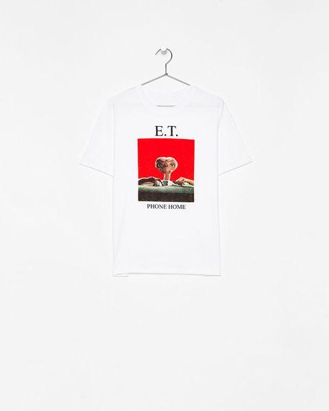 venta profesional mejor precio completo en especificaciones Bershka saca una camiseta de E.T.- Bershka homenajea a E.T. ...