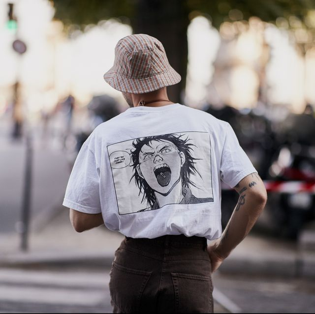 camisetas oversize hombre