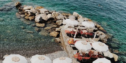 Table, Vacation, Sea, Textile, Chair, Tourism, Furniture, Fashion accessory,