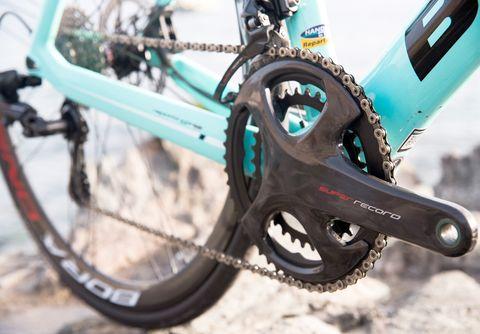 Bicycle part, Bicycle drivetrain part, Bicycle wheel, Bicycle, Crankset, Groupset, Vehicle, Spoke, Bicycle chain, Bicycle frame,