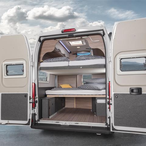 Knaus Boxlife 630 Me Camper Van Sleeps Up To 7 People