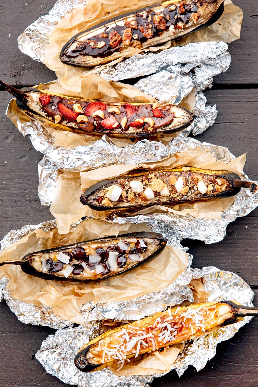 campfire banana boats