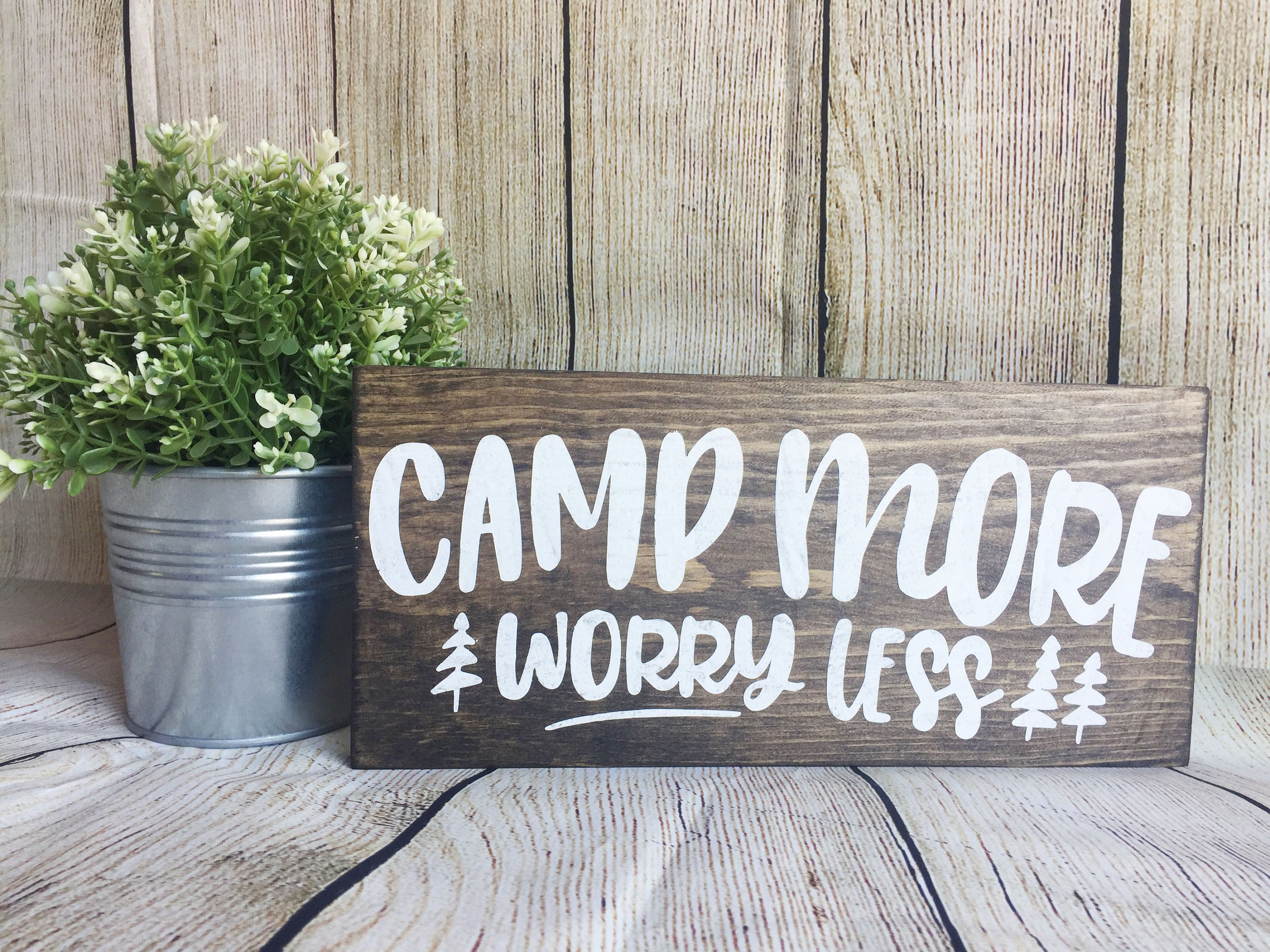 25 Fun Camping Signs to Hang in Your Home