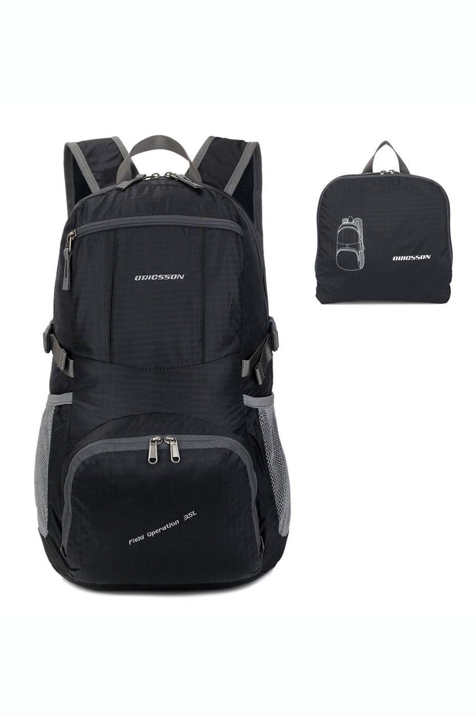 camping checklist - waterproof backpack