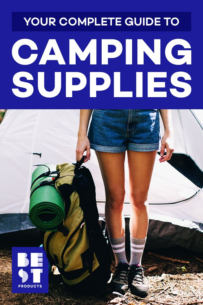 100 Best Camping Gear Supplies For 2020 Camping Essentials We Swear By