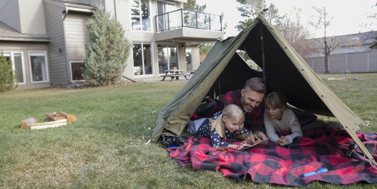 25 Family Friendly Backyard Camping Ideas Backyard