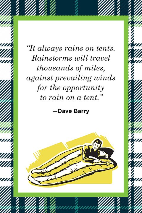 Dave Barry Camping Quote