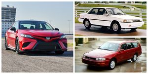 History of Toyota Camry