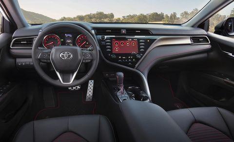 2020 Toyota Camry TRD interior