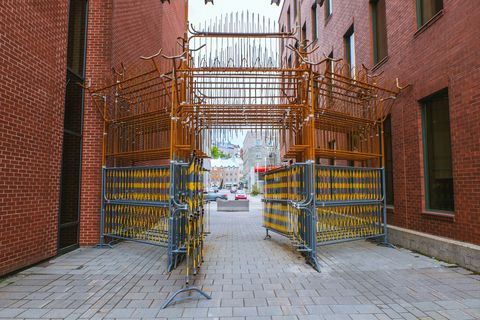 EXMURO Passages Insolites intervención artística en la calle instalaciones de arte