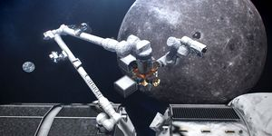 canadarm3 space moon canada arm