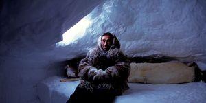 Canada. Village Baker Lake. Nanuvut. Inuit