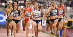 Esther Guerrero y Marta Pérez, a semifinales de 1.500m