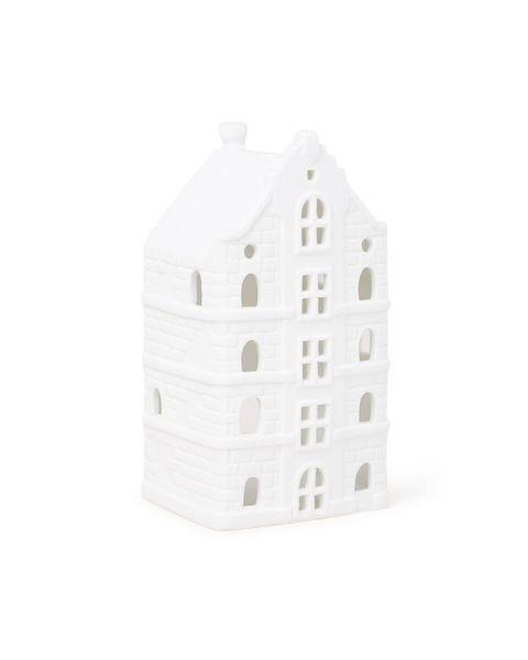 White, Architecture, House, Lantern,