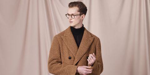 Eyewear, Clothing, Outerwear, Blazer, Suit, Jacket, Fashion, Cool, Human, Glasses,