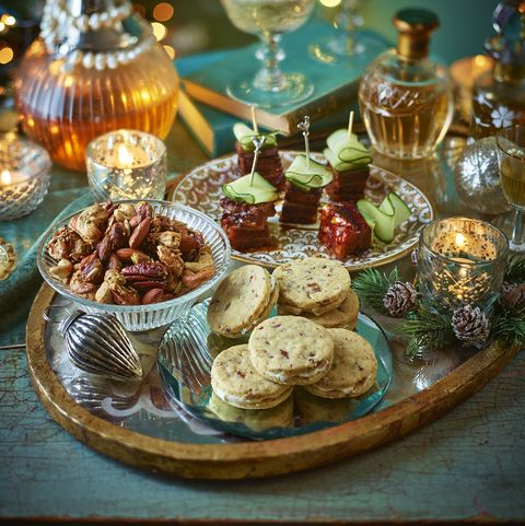 best canapé recipes spiced baked nuts