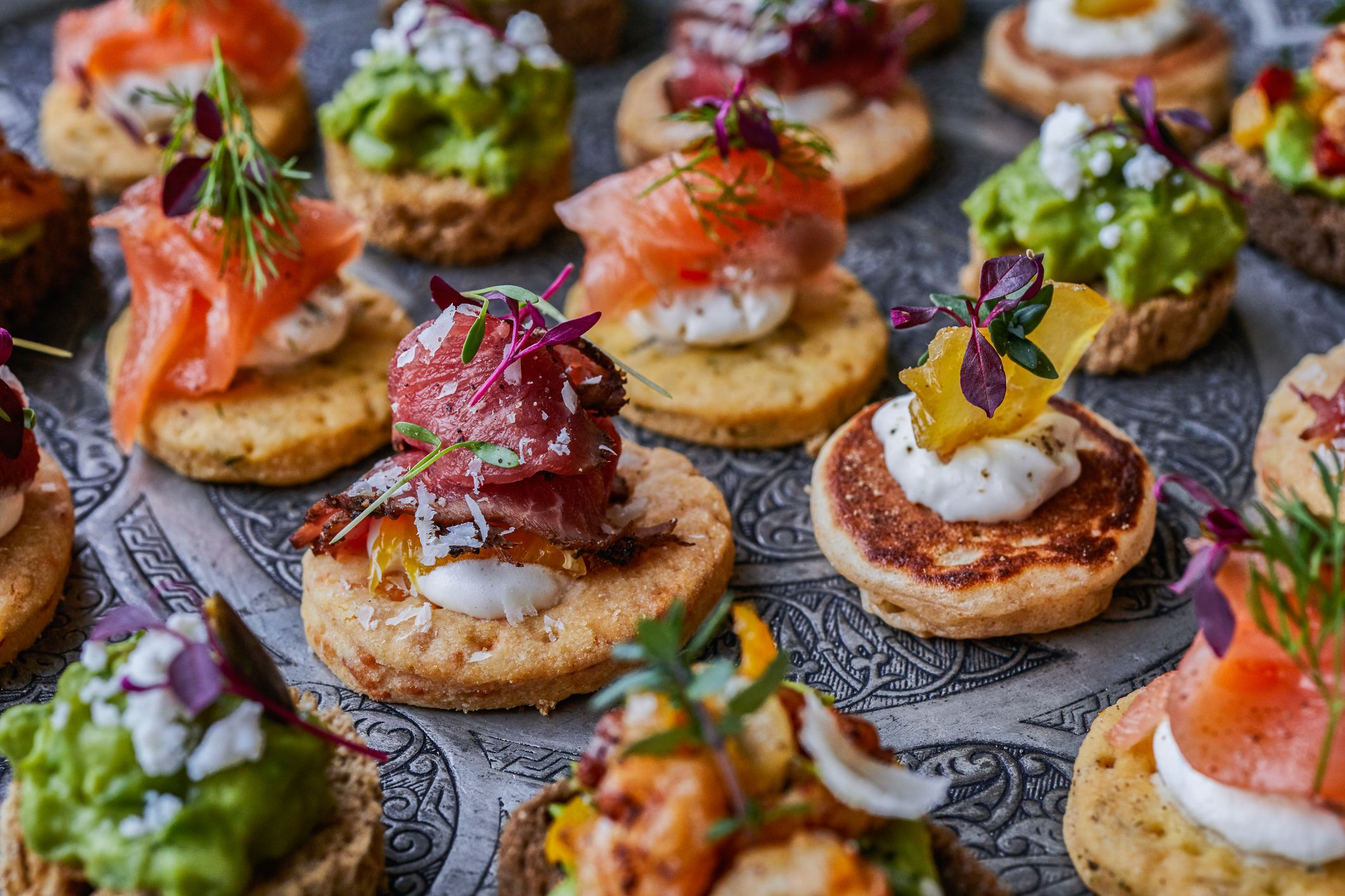 Get your hands on the best canapés this Christmas