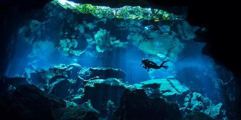 Scuba Divingin Cancun's Cenotes