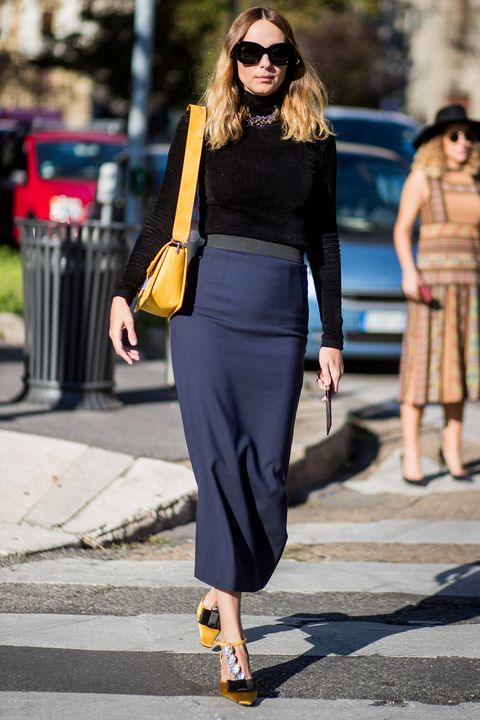 5cd4d720d How to style your pencil skirt now: 10 new ideas