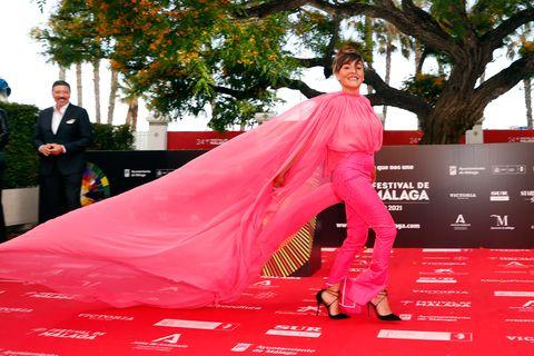 alfombra roja festival de cine malaga 2021