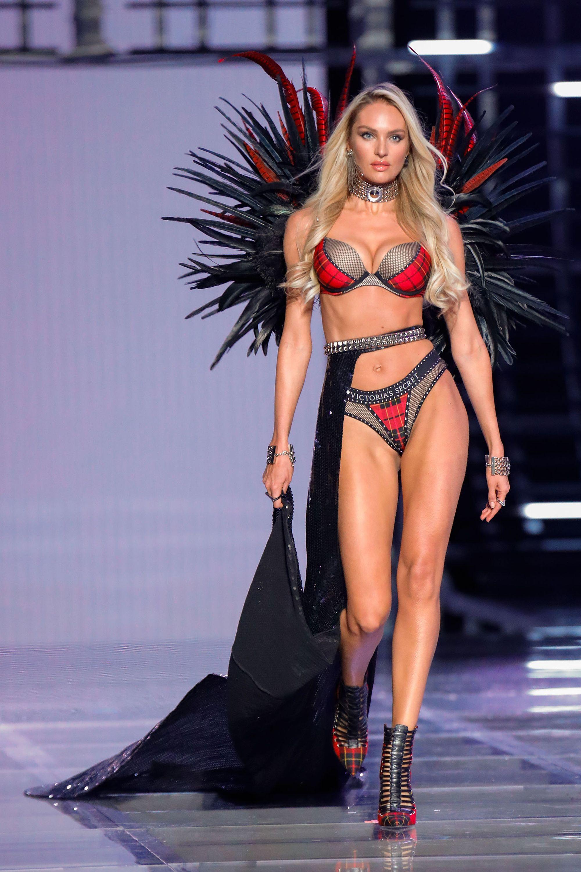 Candice Swanepoel at Victoria's Secret fashion show