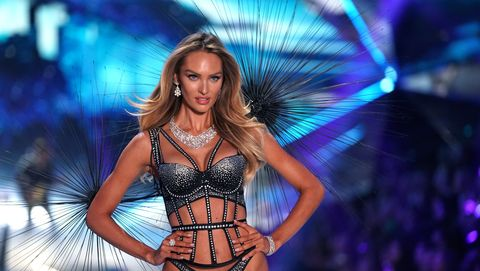 Victoria s Secret model Candice Swanepoel reveals her pre-runway ... 97a087ea7