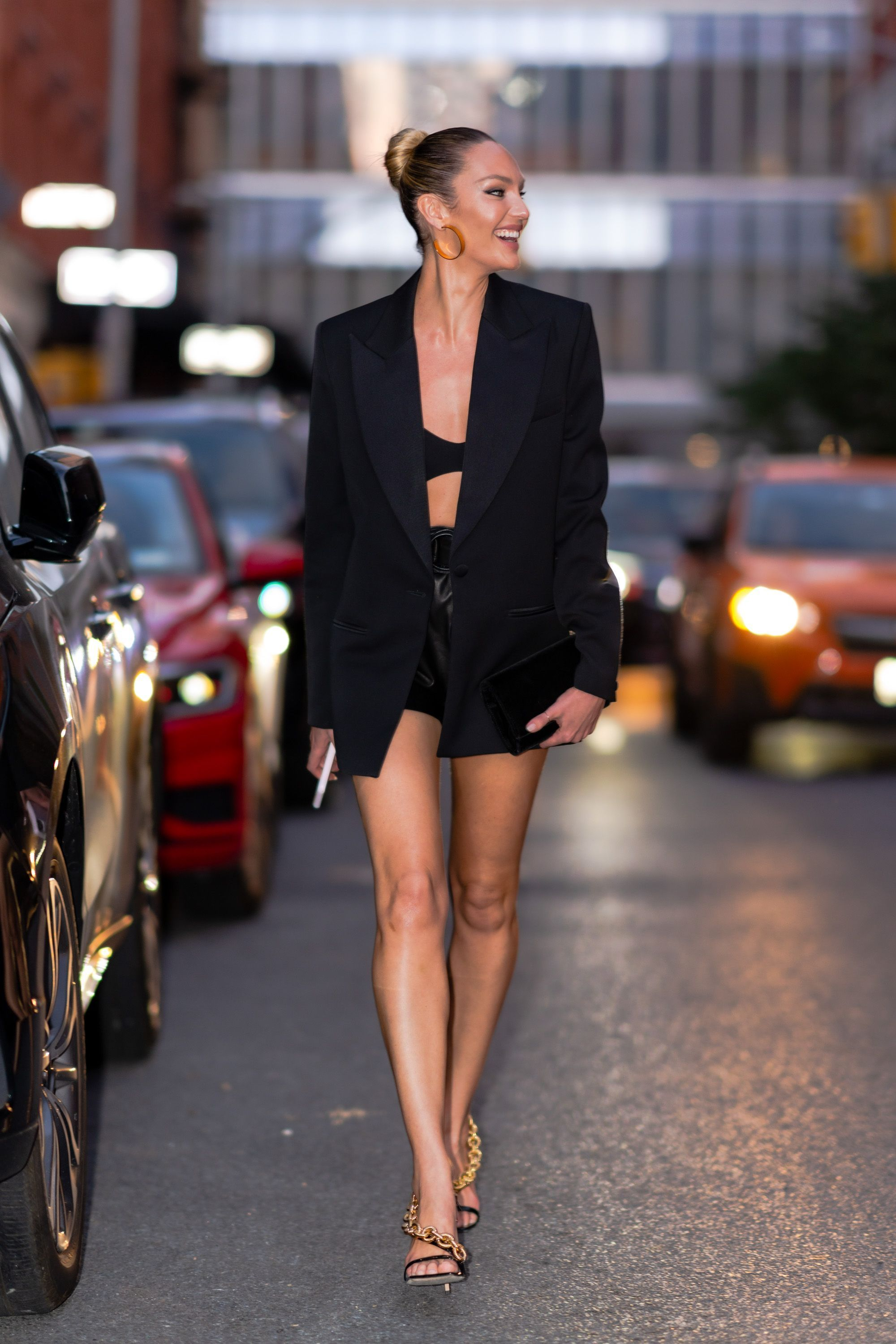 Secrets of the stylish: Why Candice Swanepoel's black blazer has enduring appeal