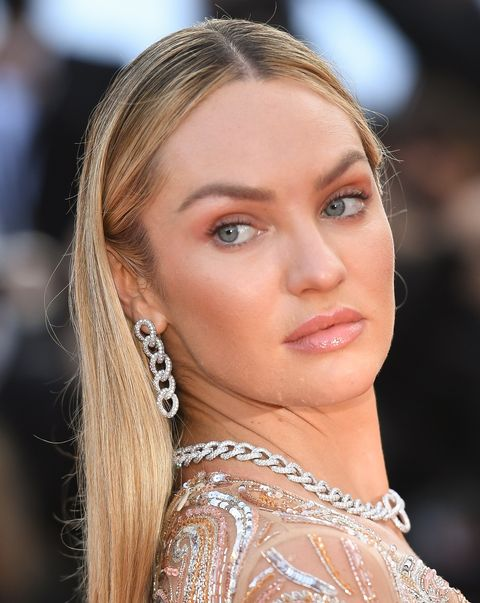 cannes, france   july 06 candice swanepoel attends the annette screening and opening ceremony during the 74th annual cannes film festival on july 06, 2021 in cannes, france photo by stephane cardinale   corbiscorbis via getty images