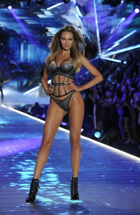 8119ffc2611 Victoria s Secret model Candice Swanepoel reveals her pre-runway ...
