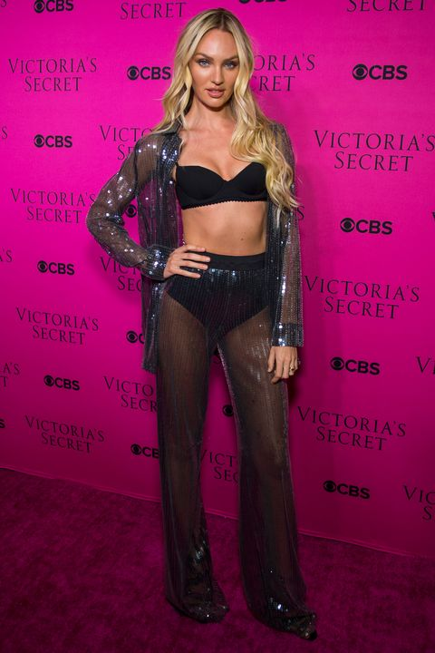 Inside the Victoria's Secret viewing party